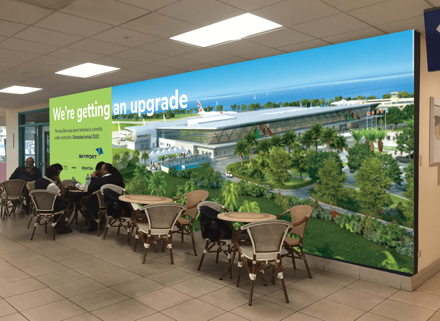 Skyport airport ad